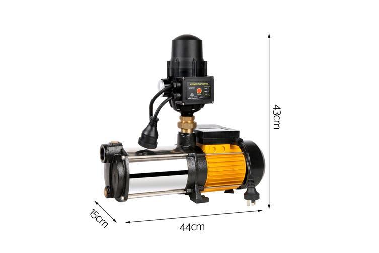 Giantz Multi Stage 2000W High Pressure Garden Water Pump Rain Tank Irrigation