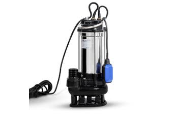 Giantz 2.7HP 20000W Submersible Dirty Water Pump Bore Sewage Septic Tank Well Sewerage
