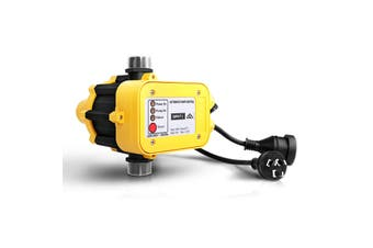 Giantz Automatic Electronic Water Pump Controller Electric Auto Pressure Switch Control in YELLOW