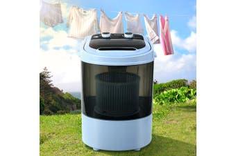 Devanti 3KG Mini Portable Washing Machine Shoes Wash Top Load Spin Camp Caravan