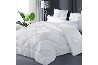 Giselle Bamboo Quilt Microfibre Microfiber Quilts 400GSM Duvet Cover Doona King All Season Summer