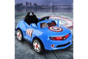 Kids Ride On Cars Toys Electric Disney Licensed Marvel Captain America