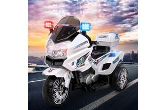 Kids Ride On Motorbike Electric Battery Car S1K Inspired Police Patrol