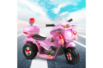 Kids Ride On Motorcycle Motorbike Toys Electric Battery Police Car