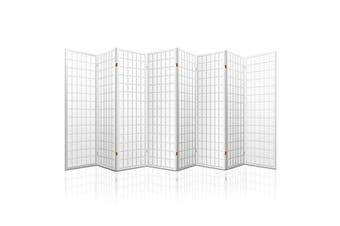 Artiss 8 Panel Room Divider Screen Privacy Dividers Stand Oriental Vintage White