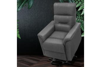Artiss Recliner Lift Chair Adjustable Armchair Luxury Lounge Padded Sofa Single
