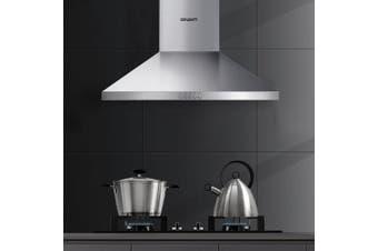 Devanti Range Hood 60cm 600mm Kitchen Canopy Stainless Steel Rangehood Wall Mount