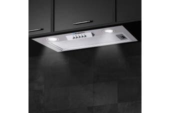 Devanti Rangehood Range Hood Under Cabinet 520mm Undermount Built In filter Included Stainless Steel Canopy Kitchen 52cm