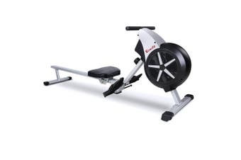 Everfit Exercise Rowing Machine Foldable Machines Home Gym Fitness 8 Level Resistance Cardio Black Air Resistance System