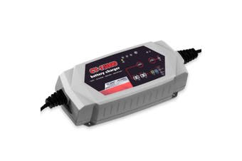 Smart Battery Charger 15A 12V24V Automatic AGM Car Truck Boat Motorcycle