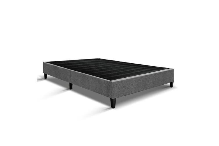 Artiss Double Full Size Bed Base Frame Mattress Platform Fabric Wooden
