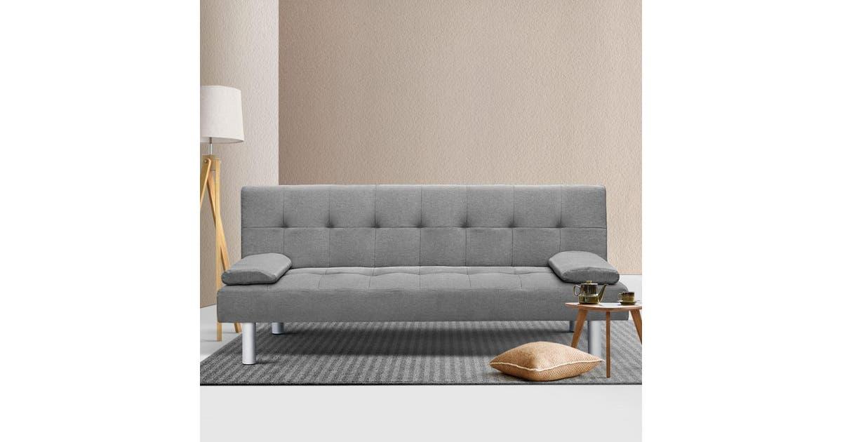 Artiss Sofa Bed Lounge Set 3 Seater