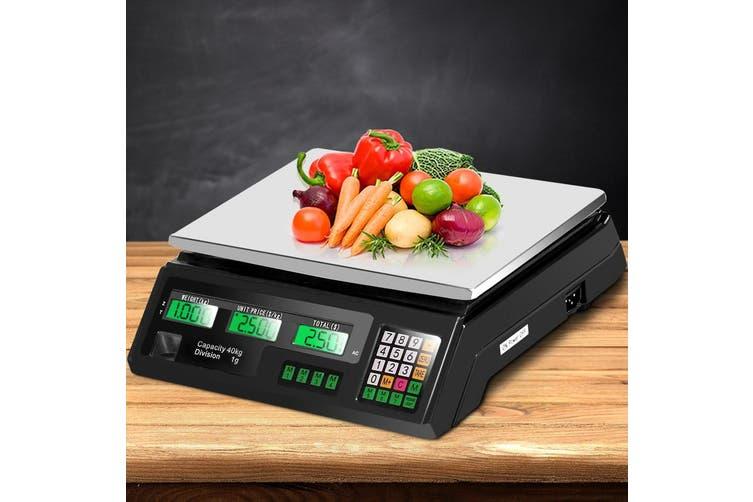 eMAJIN 40KG Digital Kitchen Scale Electronic Scales Shop Market Commercial