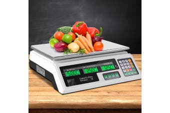 Digital Kitchen Scales  Electronic Scale 40KG Commercial Weight Food Ingredient Shop Market