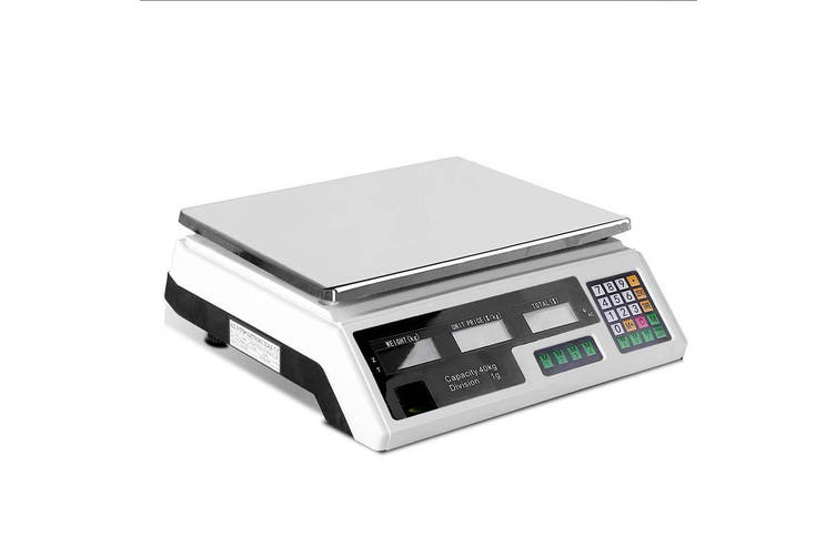 eMAJIN 40KG Digital Kitchen Scale Electronic Scales Shop Market Commercial
