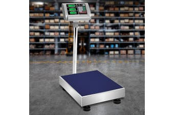 Digital Platform Scales 150KG Large Scale Price Commercial Versatile Warehouse Market Postal Delivery Weight Stainless Steel