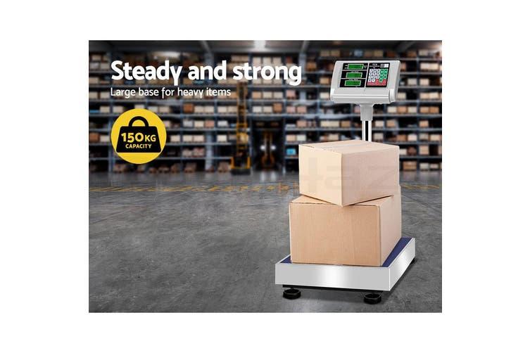 eMAJIN 150KG Digital Platform Scale Electronic Scales Shop Market Commercial Postal