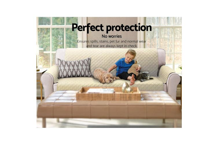 Artiss 3 Seater Couch Cover Sofa Covers Recliner Lounge Protector Slipcovers