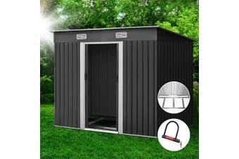 Giantz Garden Shed 2.38x1.31M Storage Sheds Tool Outdoor Workshop Base