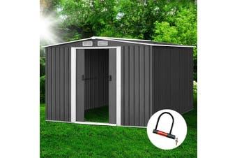 Giantz Garden Shed 2.57x3.12x1.78M Storage Sheds Double Door Outdoor