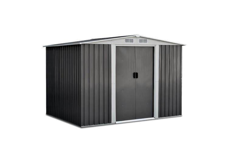 Giantz Garden Shed 2.57x2.05x1.78M Storage Shed Outdoor Workshop Shelter