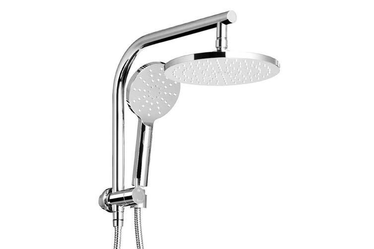 Cefito WELS 9'' Rain Shower Head Set Round Handheld High Pressure Wall Chrome