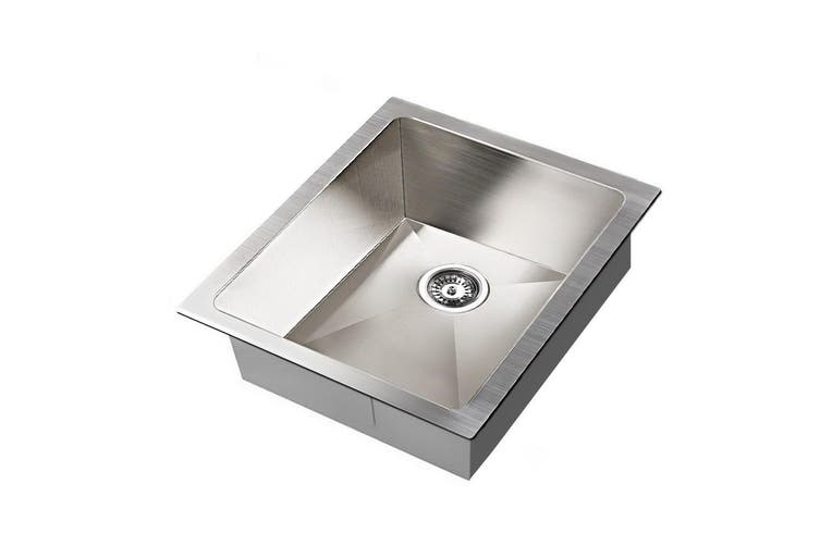 Cefito Kitchen Sink 304 Stainless Steel Top Udermount Laundry Handmade 390x450mm