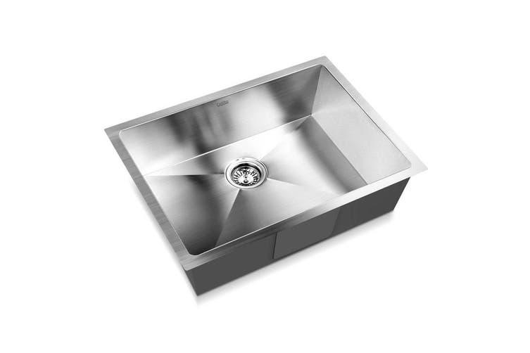 Cefito Kitchen Sink Stainless Steel Laundry Handmade Top Undermount 600x450mm