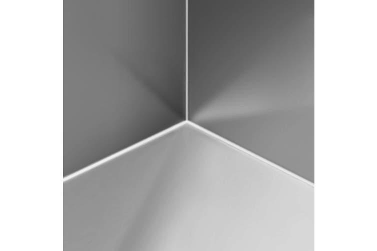 Cefito Kitchen Sink Handmade Stainless Steel Under/Topmount Laundry 870x450mm