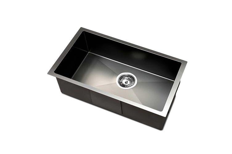 Cefito Kitchen Sink Nano Stainless Steel Laundry Single Bowl Handmade 450x300mm