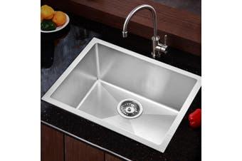 Cefito Kitchen Sink Nano Stainless Steel Handmade Top/Undermount Bowl 540x440mm