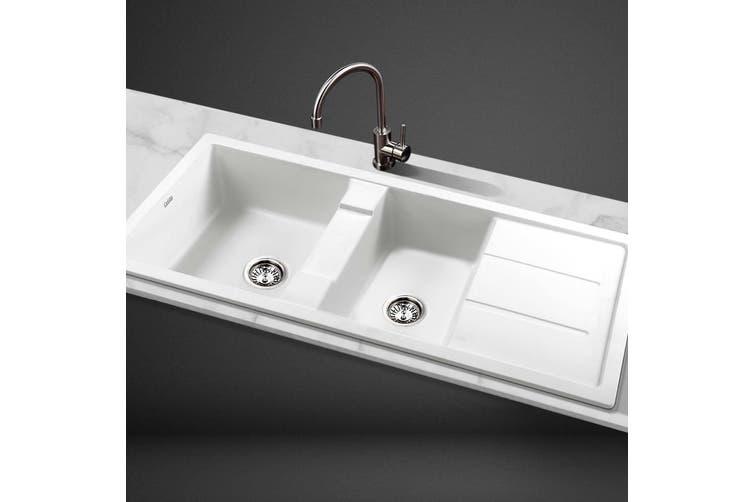 cefito kitchen sink stone sink 1160mm x 500mm