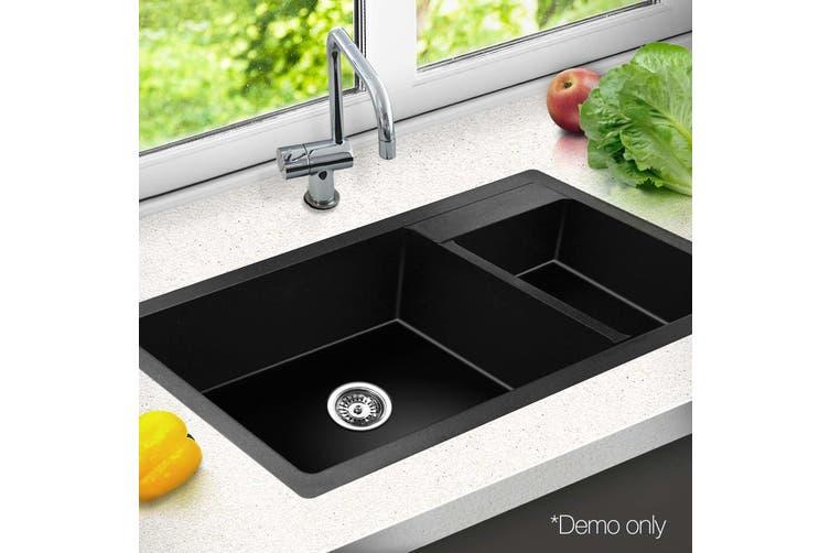 Granite Stone Kitchen Double Sink