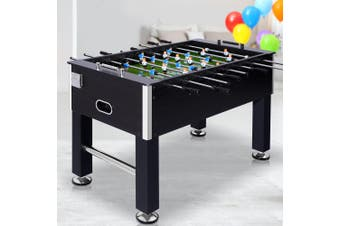 Soccer Table 5FT 140cm Adjustable Feet Football Foosball Game Bonus Balls Home Entertainment Tables Indoor Party Gift