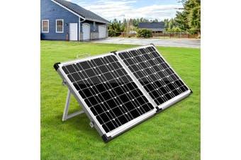 Solraiser 12 V Solar Panel Kit Folding 160W Foldable Panels USB Port Camping Camp Power Charge Caravan Boat