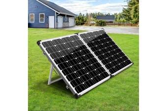 Solraiser 12 V Solar Panel Kit Folding 250W Foldable Panels USB Port Camping Camp Power Charge Caravan Boat