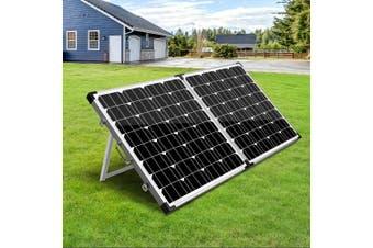Solraiser 12 V Solar Panel Kit Folding 300W Foldable Panels USB Port Camping Camp Power Charge Caravan Boat