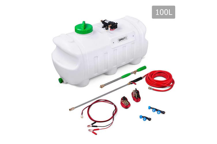 Giantz 100L 12V ATV GARDEN FARM WEED SPRAYER PUMP CHEMICAL SPOT SPRAY WATERTANK