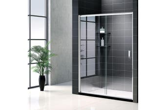 Cefito 1200x1900 Shower Screen Enclosure Wall To Wall Sliding Door  Frameless