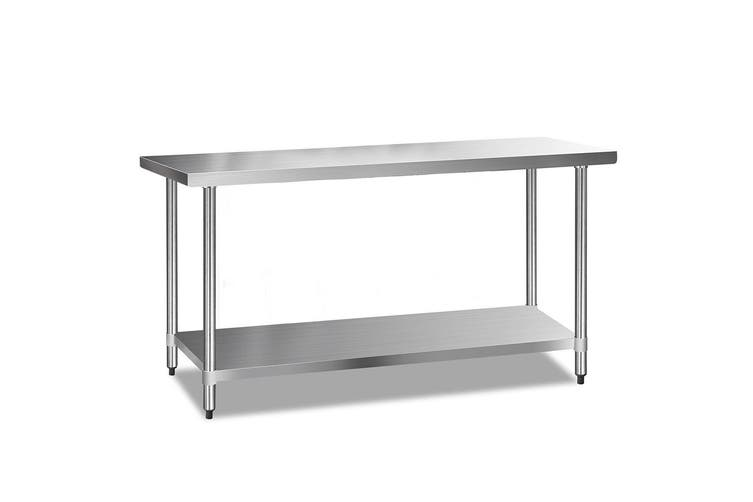 Cefito Stainless Steel Kitchen Benches Work Bench Food Prep Table 1829x610