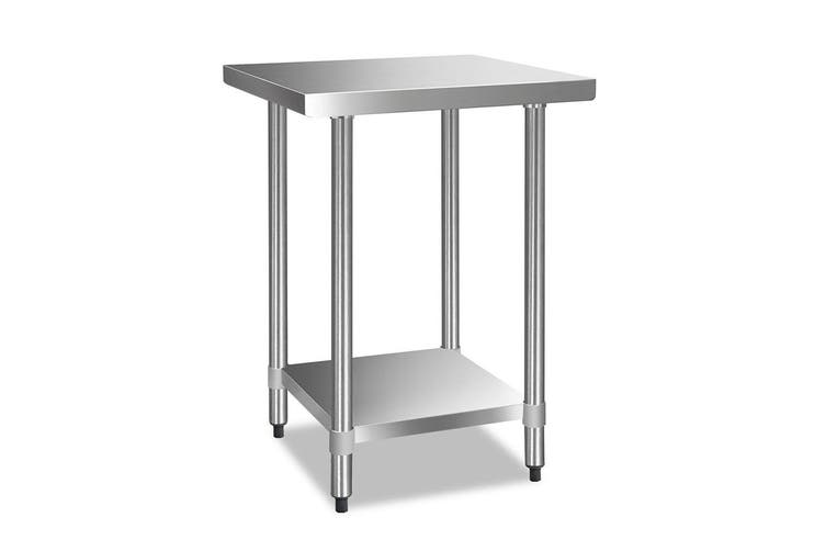 Cefito Stainless Steel Kitchen Benches Work Bench Food Prep Table 610x610
