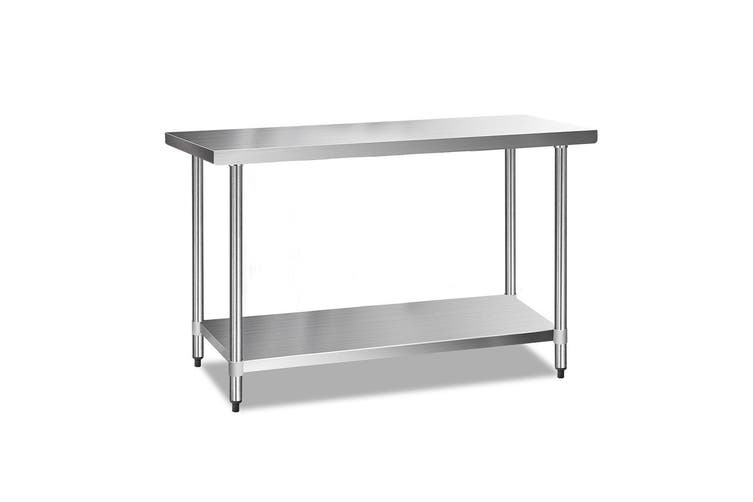Cefito Stainless Steel Kitchen Benches Work Bench Food Prep Table 1524x610