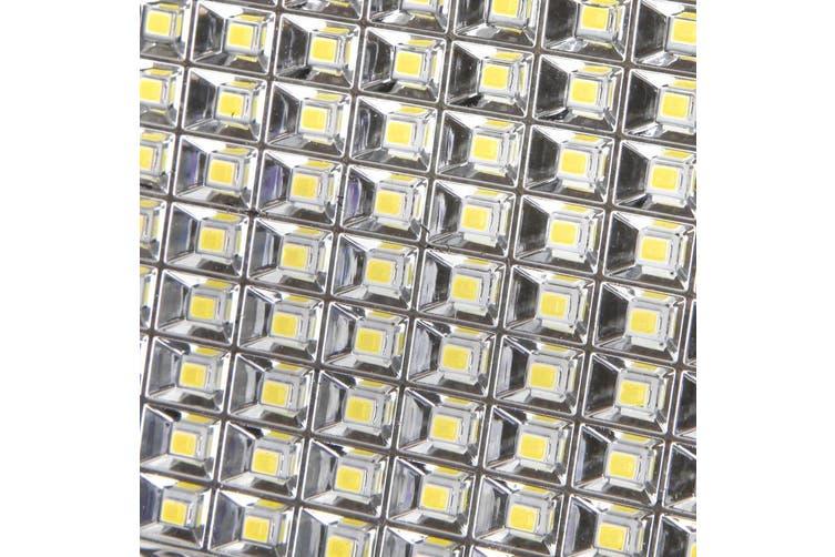 2 x Solar Motion Sensor Light LED 120 Security Outdoor Solar Powered Lights Detection Dual Garden Lamps Panel