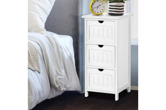 Bedside Tables Chest of Drawers Storage Cabinet Organiser Bathroom