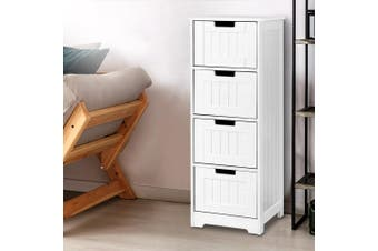 Artiss 4 Chest of Drawers Dresser Bedroom Storage Cabinet Cupboard Table Stand
