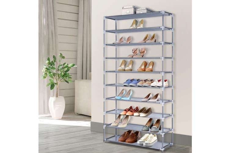 Shoe Rack Racks Organiser Storage Shelf Shelves Stand Holder 10 Tier 50 Pairs