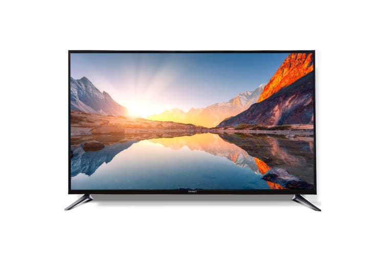 "Devanti Smart LED TV 50 Inch 50"" 4K UHD HDR LCD Slim Thin Screen Netflix YouTube"