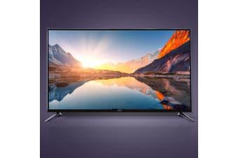 "Devanti Smart LED TV 55"" Inch 4K UHD HDR LCD Slim Thin Screen Netflix"