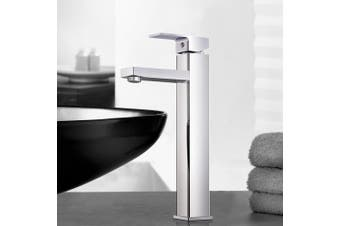 Cefito Bathroom Taps Basin Mixer Tap Faucet Square Brass Chrome Vanity Sink WELS