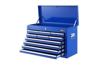 Giantz 10-Drawer Tool Box Chest Cabinet Garage Storage Toolbox Mechanic Organizer Case Kit BLUE